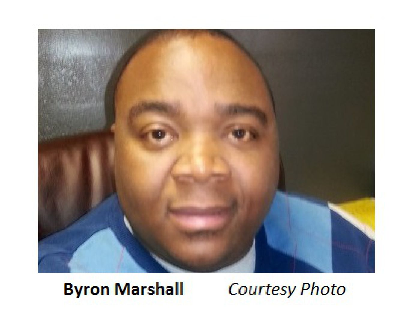 Byron Marshall Courtesy Photo
